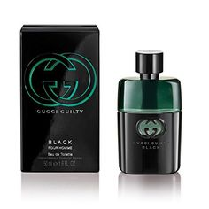 Gucci Eau de Toilette Spray for Men, Guilty Black Pour Homme, 1.6 Ounce - http://www.theperfume.org/gucci-eau-de-toilette-spray-for-men-guilty-black-pour-homme-1-6-ounce/