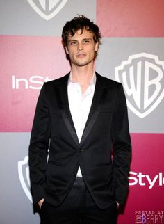 2011 InStyle/Warner Brothers Golden Globes Party - Arrivals Actor Matthew Gray Gubler arrives at the 2011 InStyle And Warner Bros. Dr. Spencer Reid, Dr Reid, Spencer Reid Criminal Minds, Matthew Gray Gubler, Matthew Grey, Sensual, Beautiful Men, Beautiful People, Pretty People