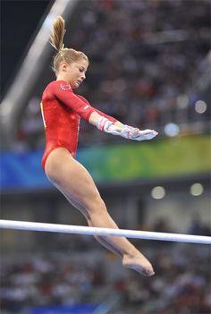 Shawn Johnson (USA) 2008 Olympics