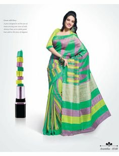 Buy Magnetizing Multicolor printed Saree online - Shoppervilla