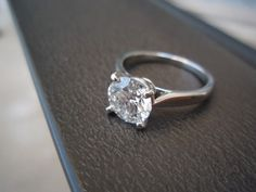 cartier 1895 is my dream ring...even more than the tiffany's setting solitaire