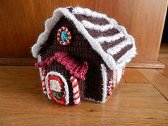 Ravelry: Ho Ho Celebrations Gingerbread House (Archive) pattern by Loops & Threads™ Design Team
