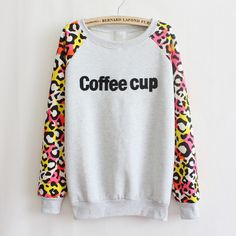 $28.00 | Long sleeve printed letters coat AD813CH