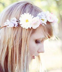 Floral Crown #hair #headband
