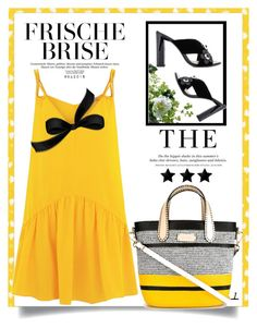 """YELLOW ♥"" by menina-ana ❤ liked on Polyvore featuring Lazul, Etro, H&M, LSA International and Fendi"