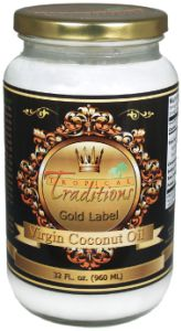 TROPICAL TRADITIONS GOLD LABEL COCONUT OIL REVIEW, PLUS GIVEAWAY!