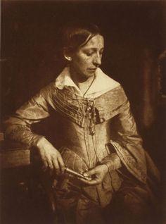 Miss Elizabeth (Betsy) Etty, Daughter of John Etty, 1844 David Octavius Hill and Robert Adamson by mai