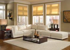 livingroom design sofas white