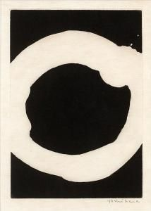 Jiro Yoshihara - Circle, From Paroles Peintes Iii