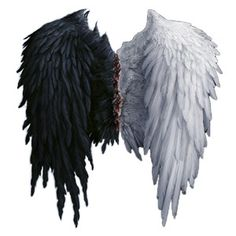 """Photo from album """"Angel Wings - PNG"""" on Yandex. Tribal Tattoos, Tattoos Skull, Celtic Tattoos, Feather Tattoos, Dreamcatcher Tattoos, Wing Tattoos, Sleeve Tattoos, Tatoos, Angel Wings Png"""