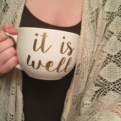 Scripture Coffee Mugs by LittleTutuShoppe on Etsy