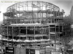 Central Library under construction in 1932 Britain. See more vintage Manchester library pics on Flickr http://s.coop/1bewh