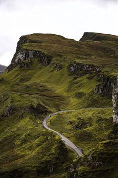 The winding roads carving through the Quiraing in the Isles of Skye - A Road Trip Through Scotland II - Paul Aparicio