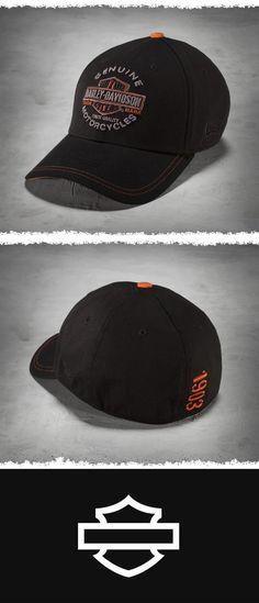Harley-Davidson Men s Genuine Trademark 39THIRTY Cap   9c84705559e1