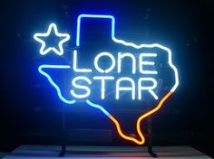 Lone Star State Classic Neon Light Sign 17 x 14