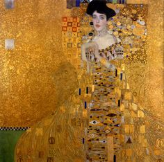 """Klimt's 1907 """"Portrait of Adele Bloch-Bauer I.""""(© 2015 Neue Galerie New York) READ ARTICLE: Who Was Maria Altmann? The Real Story Behind 'Woman in Gold'"""