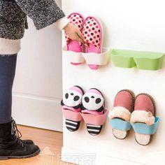 New Creative Plastic Shoe Shelf Stand Cabinet Display Shelf Organizer Wall Rack