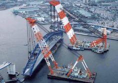 Construcción de Puente - #Crane #Industrial #Setcom