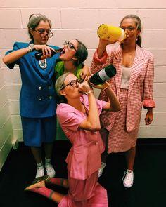Team Costumes, Group Halloween Costumes, Halloween Cosplay, Girl Costumes, Costumes For Women, Halloween Party, Costume Zombie, Grandma Halloween Costume, Grandma Costume