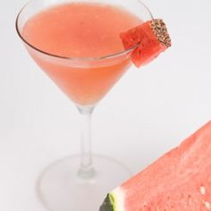The balance of sweet watermelon and spicy pepper makes this cocktail undeniably refreshing. you can't image how good taste of it , just try and enjoy it. 1.5 oz London dry-style gin 0.75 oz Black Pepper Honey Syrup* 1 oz Watermelon juice .5 oz Lemon juice Garnish:Watermelon cube and ground black pepper Glass:Cocktail