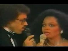 Endless Love - Diana Ross & Lionel Richie and now with Diana!! xx so natural and vulnerable.
