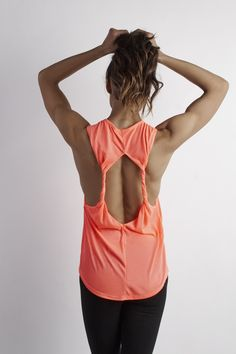 Back Twist Tank for Yoga