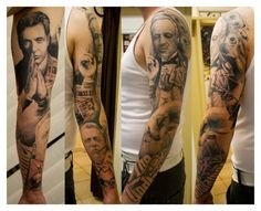 the godfather tattoos. i wouldnt want it taking up my whole arm. but some of these are awesome!