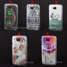 New Rose Elephant Carousel Owl Hook Tpu Soft Skin Case Cover For LG Optimus L90 #UnbrandedGeneric