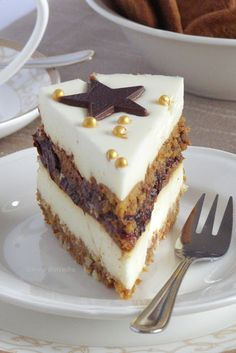 Sweet Desserts, Just Desserts, Mini Cakes, Cupcake Cakes, Cake Recipes, Dessert Recipes, Easy Cake Decorating, My Dessert, Christmas Cooking