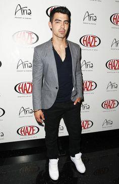 Joe Jonas in Supra available at Hype Direct