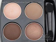 Avon True Color Eyeshadow Quad - Mocha Latte Review, Swatches and Photos - Fables in Fashion Matte Medium, Medium Brown, Soft Autumn Deep, Avon Eyeshadow, Avon True, Neutral Palette, Soft Summer, Makeup Collection, Everyday Look