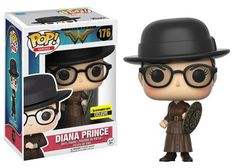 Wonder Woman: Diana Prince Pop by Funko, Entertainment Earth exclusive 2017 release