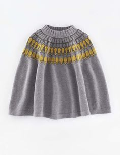 Chelsea Knitted Poncho WV064 Sweaters at Boden
