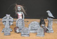 POTIONSMITH: Zombie Pumpkin - Part Three, Clay Headstones