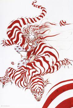 The Inspirational Artwork Of Yoshitaka Amano | Septagon Studios Comic Blog: Comic Creation Trends, Resources and News