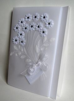 Wedding invitation Bunch of Flowers by WangoArt on Etsy, $6.00