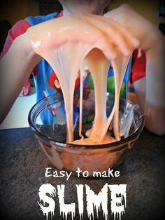 How to Make Slime or Ooze