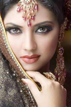 [ Bridal Makeup Ideas Girls ] - indian dulhan new look makeup ideas 2014 for girls image best bridal makeup tips 2012 best wedding new makeup tips,best pakistani bridal makeup tutorial with steps asian bridal makeup ideas 2016 for modish girls Pakistani Makeup, Pakistani Bridal, Indian Bridal, Bridal Henna, Bollywood Makeup, Indian Makeup, Bollywood Style, Pakistani Actress, India Beauty