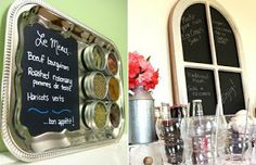 *Riches to Rags* by Dori: Chalkboard Decoration Ideas