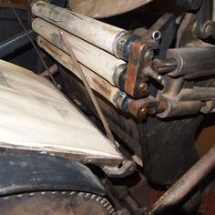 Old printing press by teaberrycreative, via Flickr