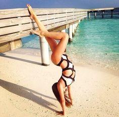 SWIMSUIT: http://www.glamzelle.com/products/bandage-black-white-cutout-monokini-one-piece-swimsuit