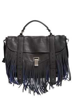 The swingy, retro-inspired fringe on this cult-favorite Proenza Schouler satchel is totally in-line with this season's '70s trend.