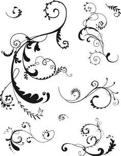 Pin Artemio 10001037 Timbri Ghirigori On Pinterest