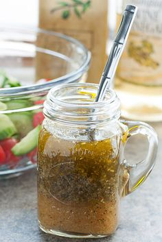 Stop buying salad dressing. It's healthier AND more delicious if you make it yourself.