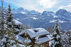 La Croix-Fry in Manigod, a truly fabulous ski hotel in the French Alps.  #france #skiing #hotel #travel