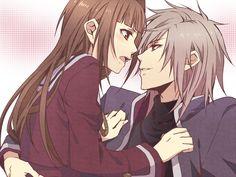 Hiiro no Kakera~Ryou and a blushing Tamaki