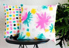 Almofada personalizada decorada à mão pode ser a sua nova fonte de renda (Foto: blog.etsy.com)