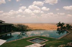 Singita Sasakwa Lodge plunge pool, Serengeti, Tanzania