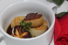 Shin Minori's Sauteed Foie Gras & Scallop