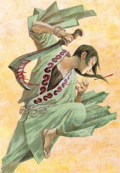 Hiroaki Samura, Blade of the Immortal, BotI Illustration Collection, Anotsu Kagehisa